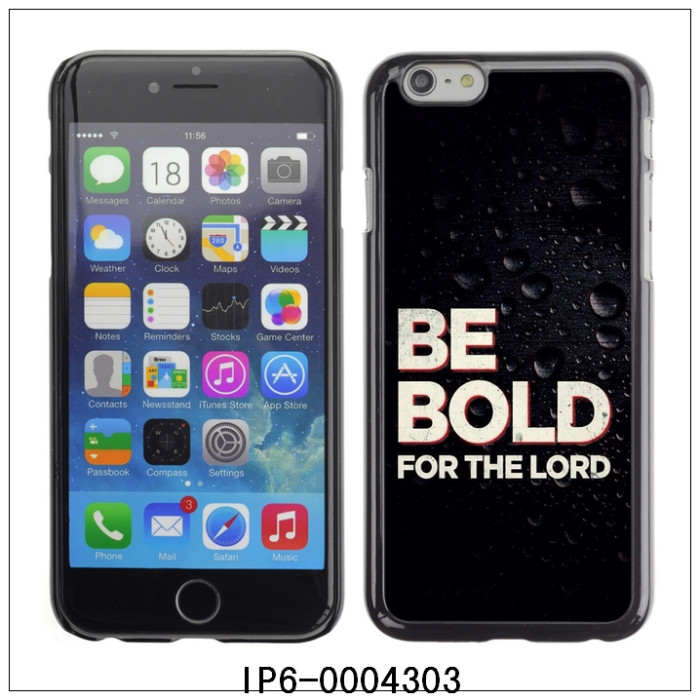 "BE BOLD FOR THE LORD-FOR 4.7"" iPhone 6 I6 Plastic Hard Back Case Cover Shell (IP6-0004303)(China (Mainland))"