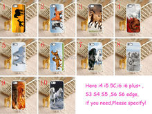 10pcs/lots Unique Horse hard White Skin case cover for iphone6(4.7inch) and iphone6 plus(5.5inch)
