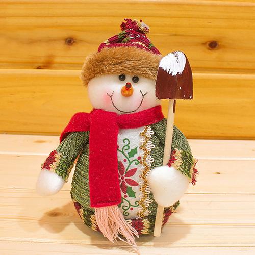 2015 Santa Claus Snow Man Moose Doll Christmas Decorations Xmas Tree Gadgets Ornaments Doll 8C2O(China (Mainland))