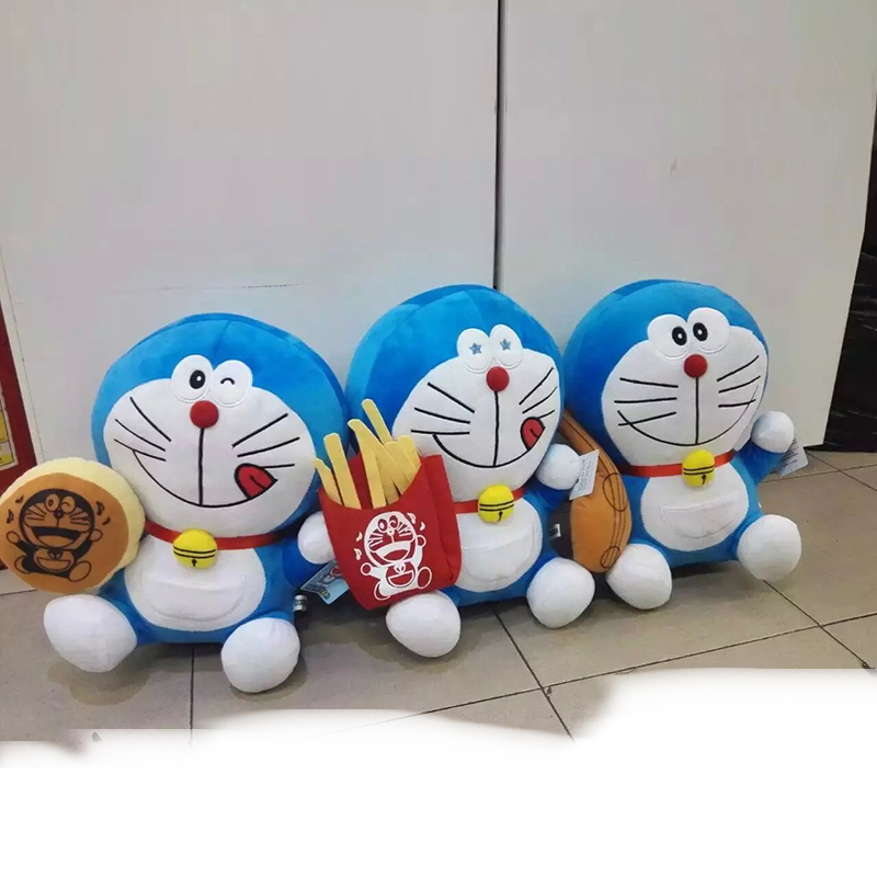 "8"" 20cm Doraemon Stuffed Plush Soft Toy Doll Ding Dang Fisherman Cat Kids Gift Kid Toy Kawaii Plush Anime Doraemon Plush 6 Style(China (Mainland))"