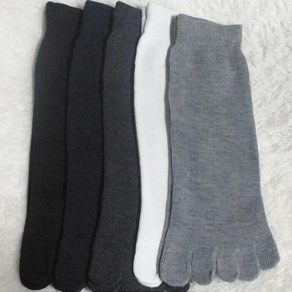 1 Pair Mens Womens Socks Sports Ideal For Five 5 Finger Toe Shoes Fashion Socks
