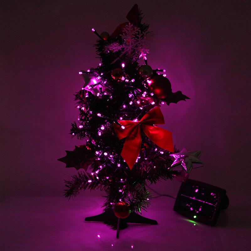 200led solar string light christmas wedding party garden tree decor. Black Bedroom Furniture Sets. Home Design Ideas