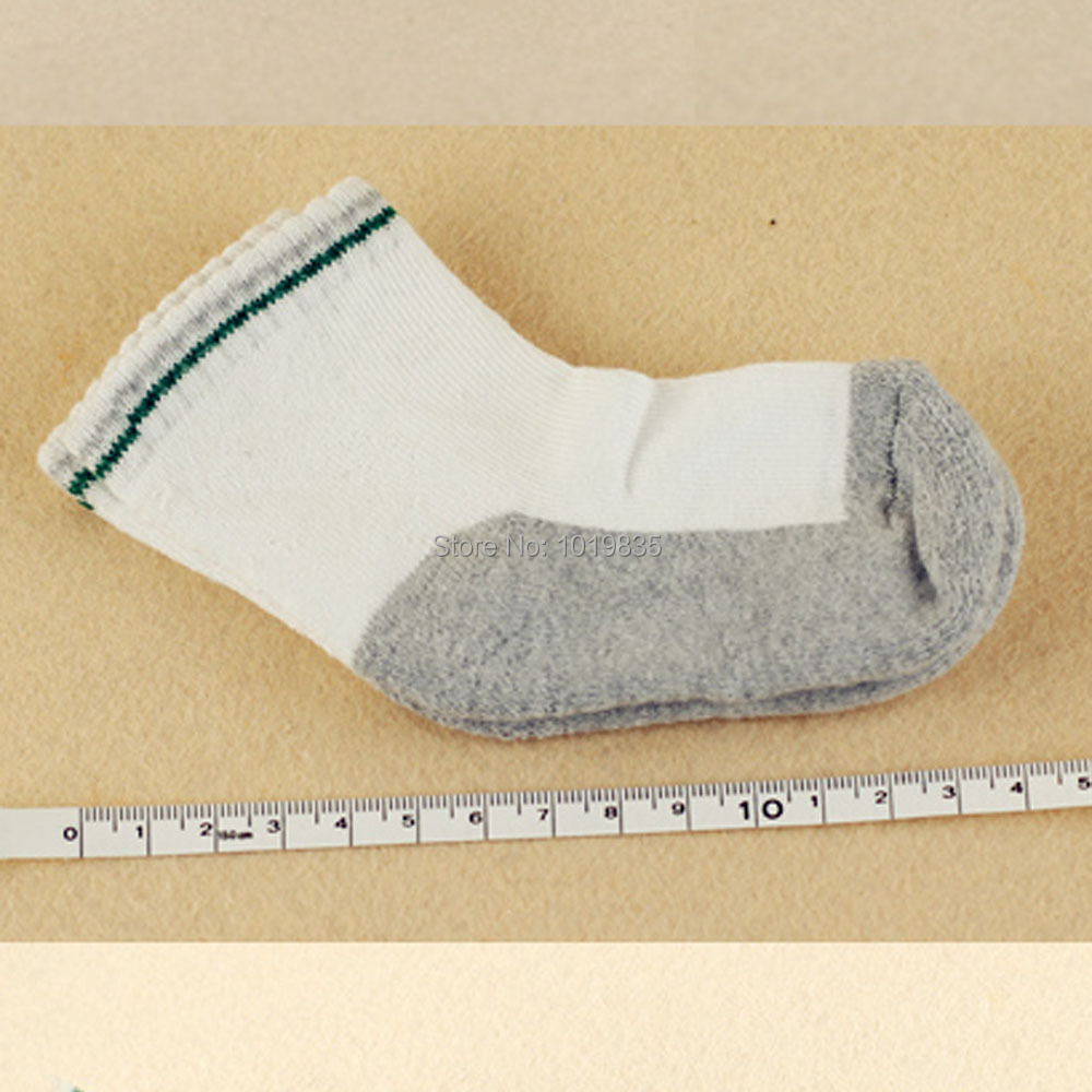 5 Pairs Baby Infant Toddler Ankle Socks Cotton Gray Age 12-36 Month Boy Girl New(China (Mainland))