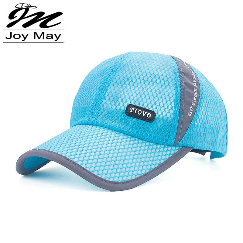 2016 New Attractive Unisex Casual Hat Solid Baseball Cap Sport Mesh Blank Visor Hat Adjustable Sunhat B317(China (Mainland))