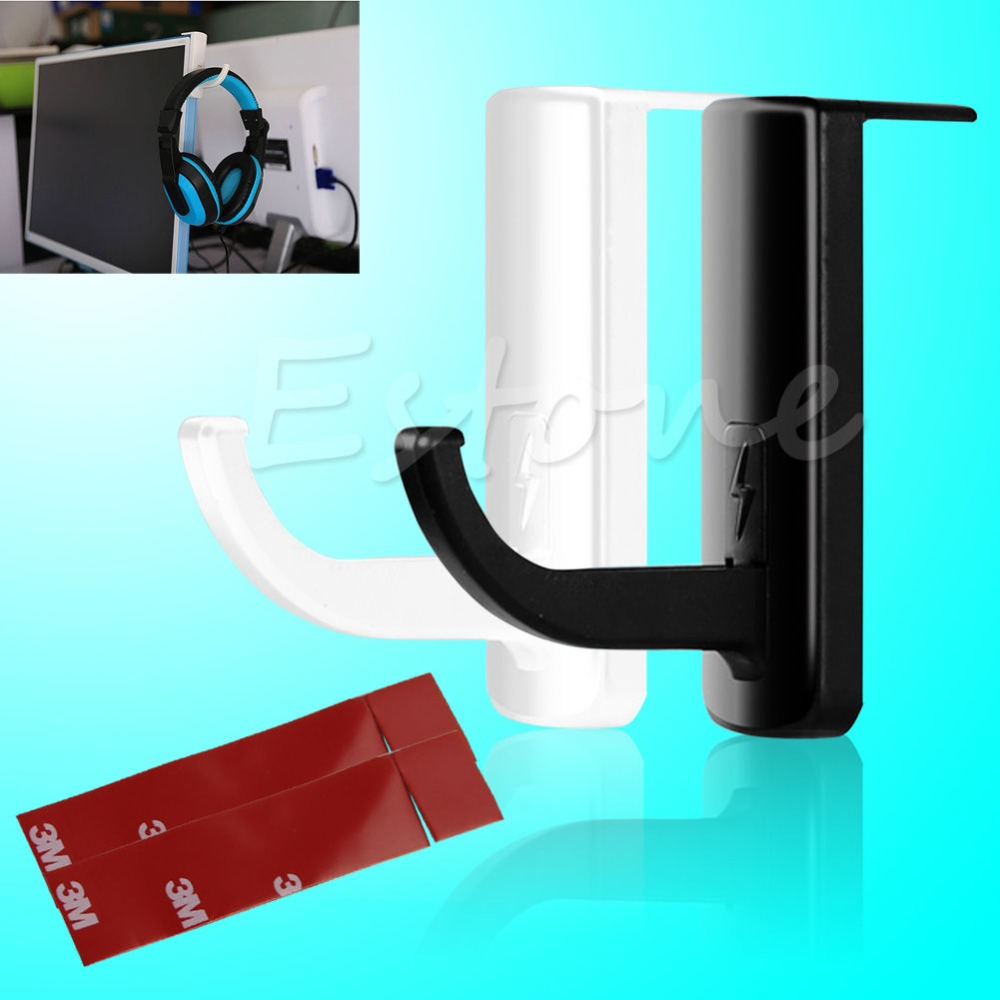 F98 2016  newestFree Shipping New Headset Headphone Holder Hanger Wall PC Monitor Stand For Sonyfree shipping<br><br>Aliexpress