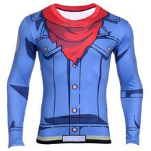 Buy 2016 FASHION Dragon Ball Z Vegeta long T Shirts Men Anime Super Saiyan Goku/Majin Buu/Piccolo/Cell DBZ T shirt 3D Tees for $8.99 in AliExpress store