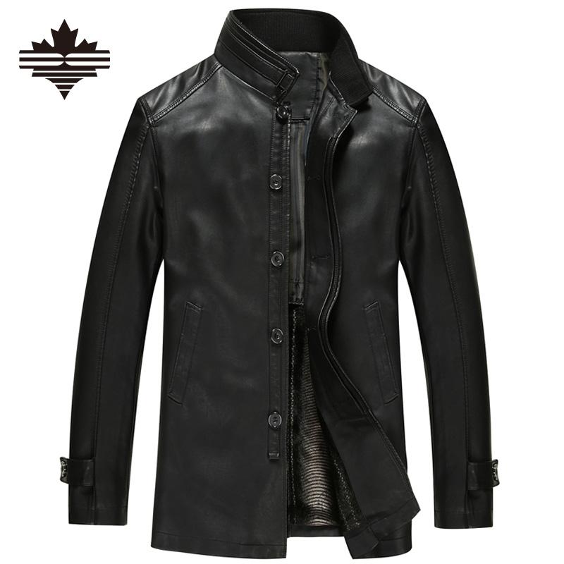 Aliexpress.com : Buy 2016 Leather Jacket Men Winter ...