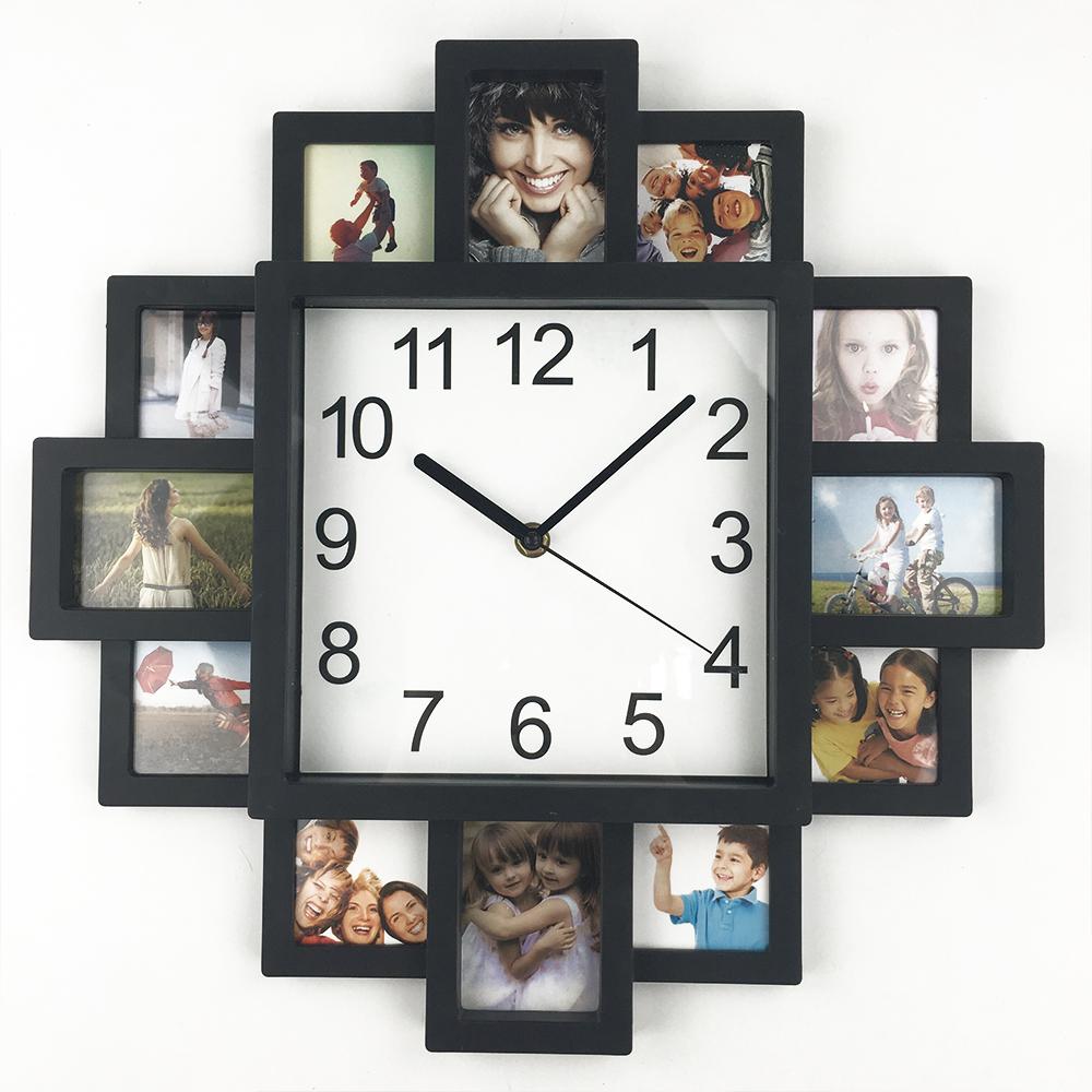 Online kopen wholesale wandklok fotolijst uit china wandklok fotolijst groothandel - Moderne klok ...
