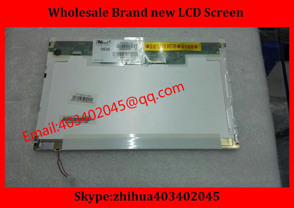 Free shipping New 12.1 laptop lcd screen LTN121AT02 B121EW03 V.0 lcd screen for H P TX2000 For I BM X2001280*800 20PIN(China (Mainland))