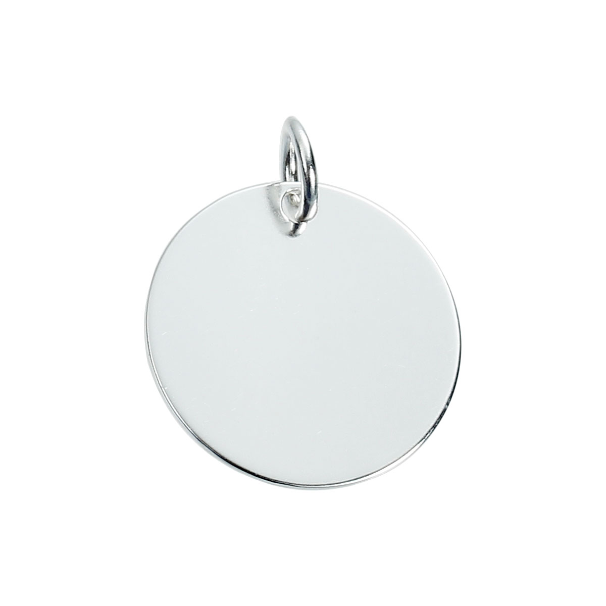 """925 Sterling Silver Blank Stamping Tags Charms Pendants Round Silver 22mm( 7/8"""") x 18mm( 6/8""""),1 Piece 2016 new(China (Mainland))"""