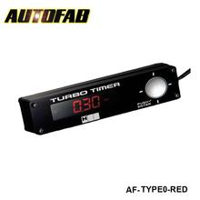 AUTOFAB - Turbo Timer H Q Light:red,white,blue have in stock AF-TYPE0-RED(China (Mainland))