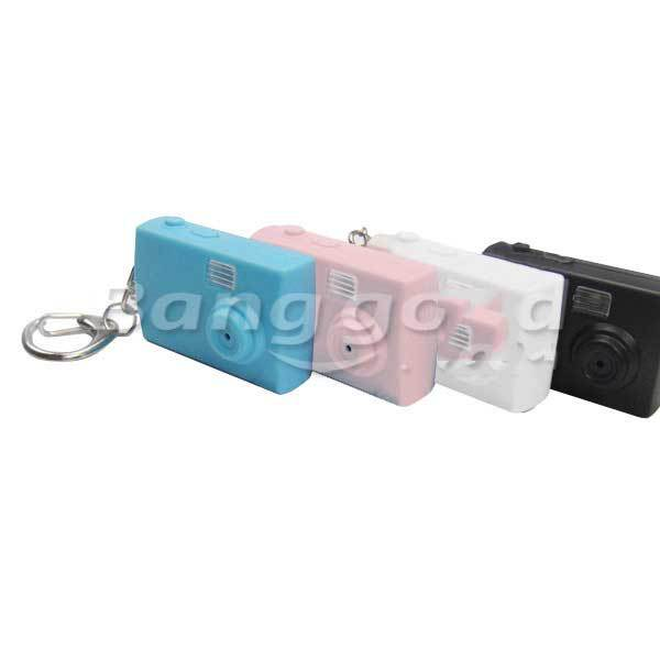 Dodson Real Flash Luminous Sound Cartoon mini Camera LED Key Chain(China (Mainland))