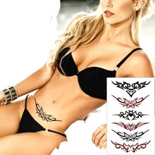 Sexy Lace Arts Garland Temporary Body Art Flash Tattoo Sticker 10*17cm Waterproof Henna Tatoo Christmas Gift Tatto FREE SHIPPING