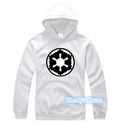 100% хлопок толстовки пуловеры тв звездные войны империя мужские DIY печать уф-эмаль руна капюшоном бесплатная доставка
