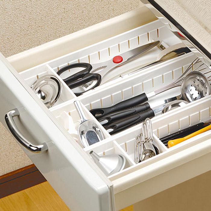 Japon en plastique armoires de cuisine tiroir couverts - Organisateur tiroir cuisine ...