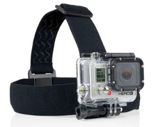 Elastic Adjustable Head strap Mount Belt With Anti slide Glue Mount for Gopro Hero 4 3 Xiaomi yi Sport Action Camera Accessories