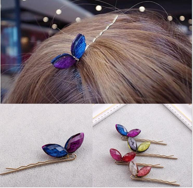 2015 the new fashion colour rabbit ear hair clips(China (Mainland))