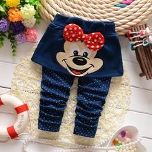 Free shipping 2014 New Autumn Spring Baby Girls Cotton Flower Leggings girls pants C22