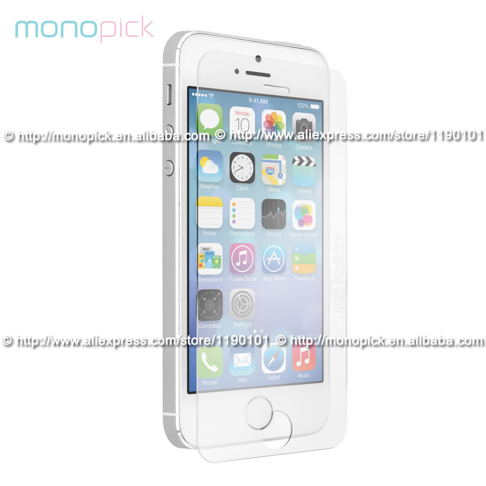 MONOPICK Premium Tempered Gorilla Glass Clear Screen Protector Guard Film for iPhone 6(Hong Kong)
