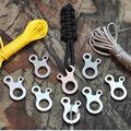5 IN 1 Cep EDC Tornavida Şişe Açacağı Kaşık Survival Kitleri Kamp Dişli N78