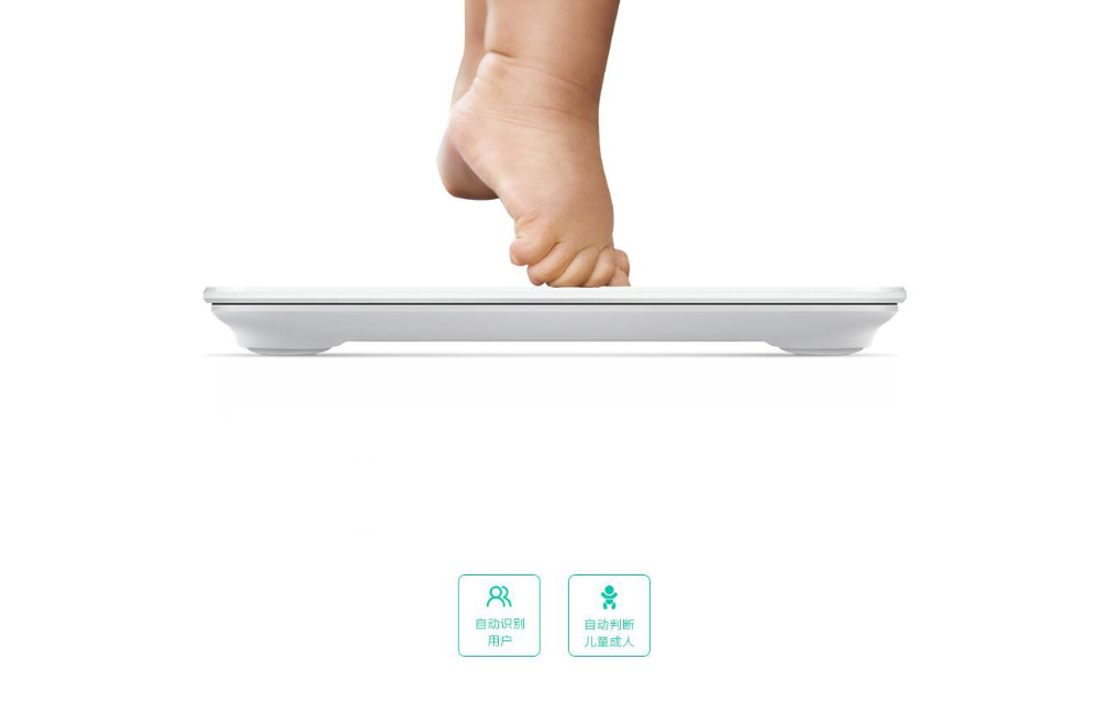 Original Xiaomi Scale Mi Smart Health Weighing Mi Scale Electronic Bluetooth4.0 Lose Weight Digital Scale LED Displa Android IOS