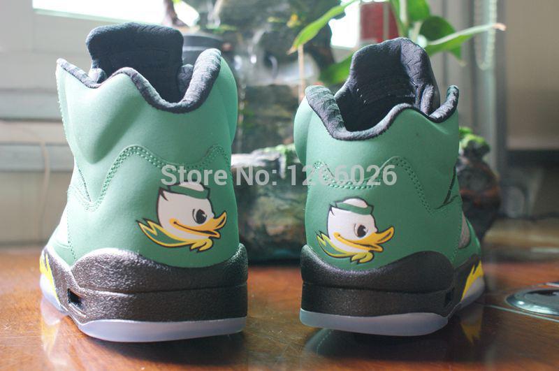 2014 men's j5 basketball shoes Oregon Ducks men's J5 sneakers cheap designer shoes size 41-47(China (Mainland))