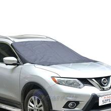 210*120 cm Car Windshield Sun Shade Micro Fiber Winter Car Snow Shield Cover Auto Front Windscreen Rain Frost Sunshade Car Cover(China (Mainland))