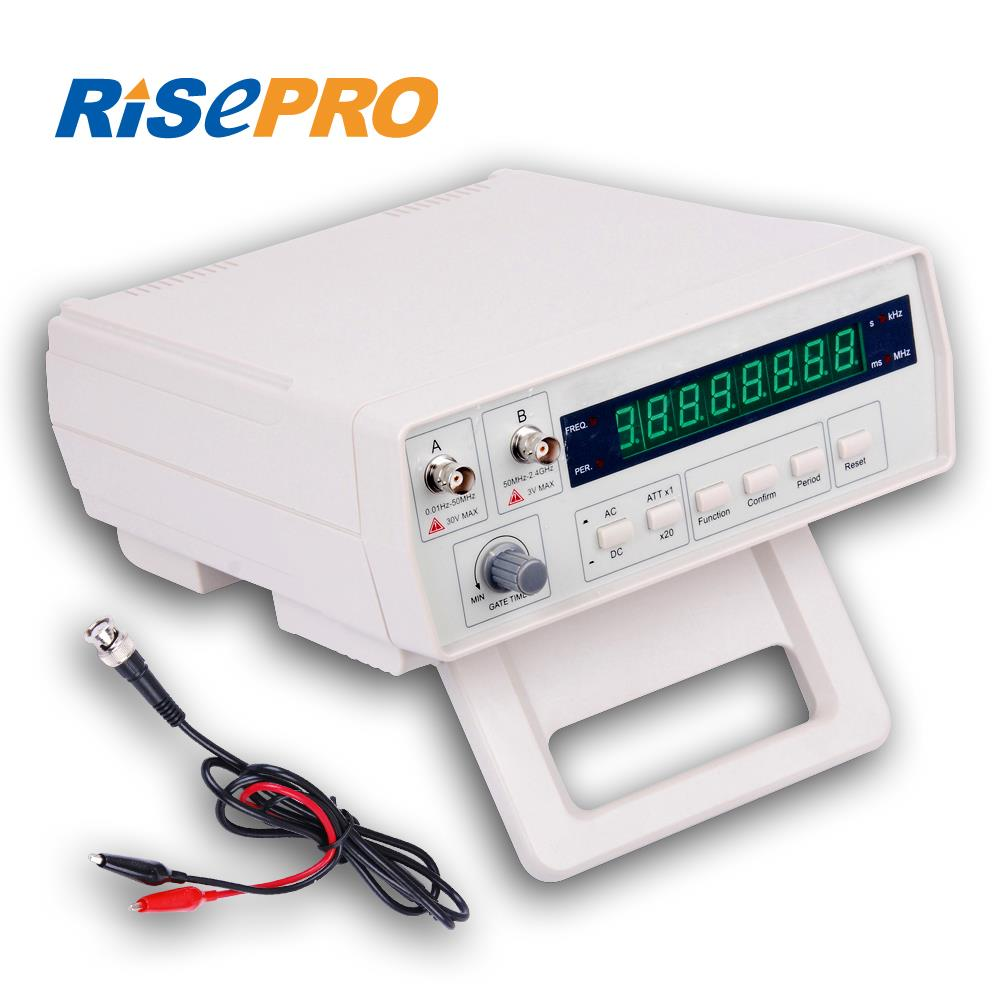 Rf Frequency Counter : Risepro vc radio frequency counter rf meter hz