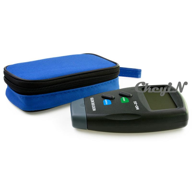 2 Pin Digital Moisture Meter Wood Firewood Timber Damp Tester Detector MD 2G Free Carry Case