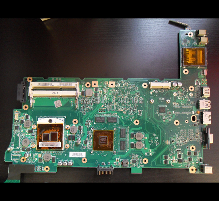 For asus K73JF REV 2.1 PC notebook motherboard intel processor professional wholesale 100% working(China (Mainland))