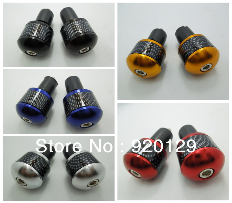 MOTORCYCLE HANDLE BAR ENDS 7/8 Grip Cap Plug Slider 22mm Free shipping<br><br>Aliexpress