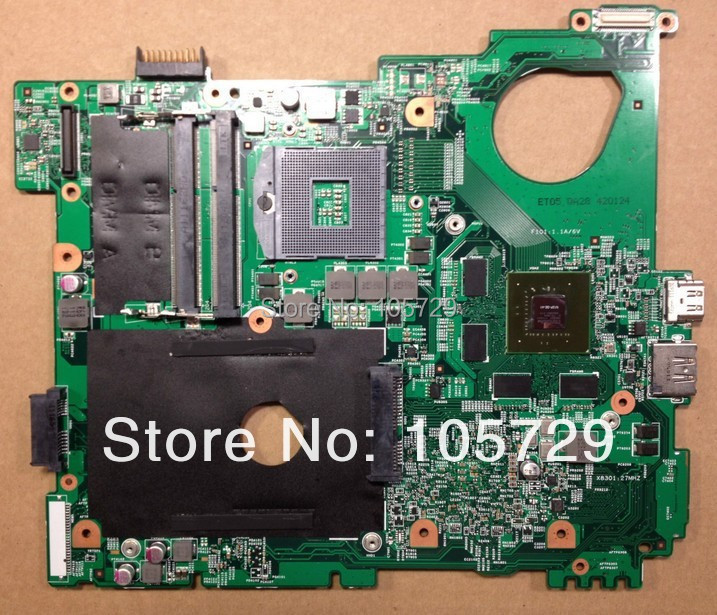 Brand new+Free shipping CN-0MWXPK MWXPK Laptop Motherboard for dell inspiron N5110 Nvidia GT525M graphics DDR3 suppy core i7(China (Mainland))