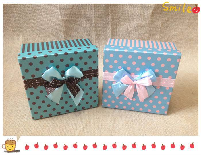 Square birthday gift boxes, chocolate boxes, packing boxes,18*18*9CM(China (Mainland))