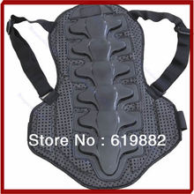 A31 Drop Shipping noir motocross Racing Motorcycle Body Armor retour Spine Jacket équipement de protection sml(China (Mainland))
