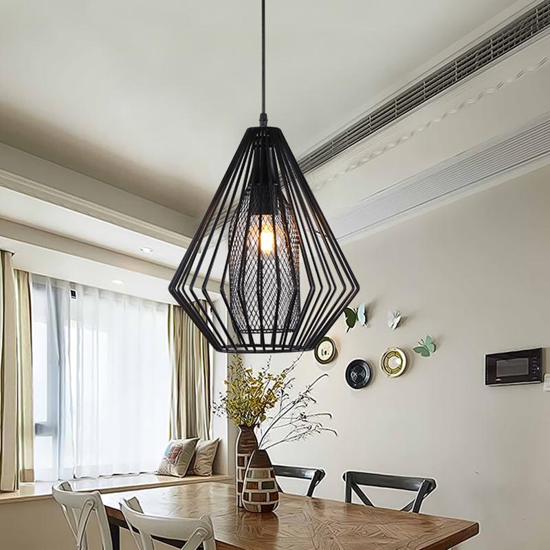 Industrial pendant lights vintage restaurant bar foyer loft lustre industriel - Lustre loft industriel ...