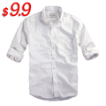 2015 New brand striped shirt men Oxford shirts long sleeve casual shirt for men camisas masculinas EUsize S-XXL