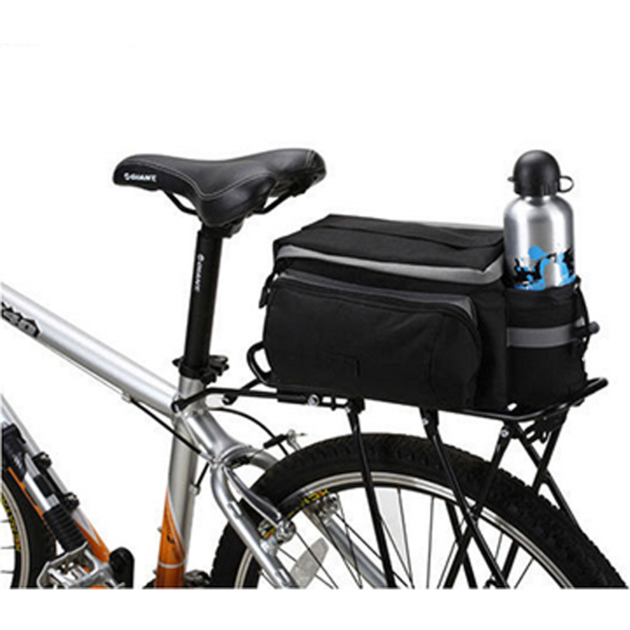 Bicycle Carry Bag for Mountain Bike Kettle Bag Riding Bicycle Accessories Bike Tail Bag for Mountain Bike(China (Mainland))