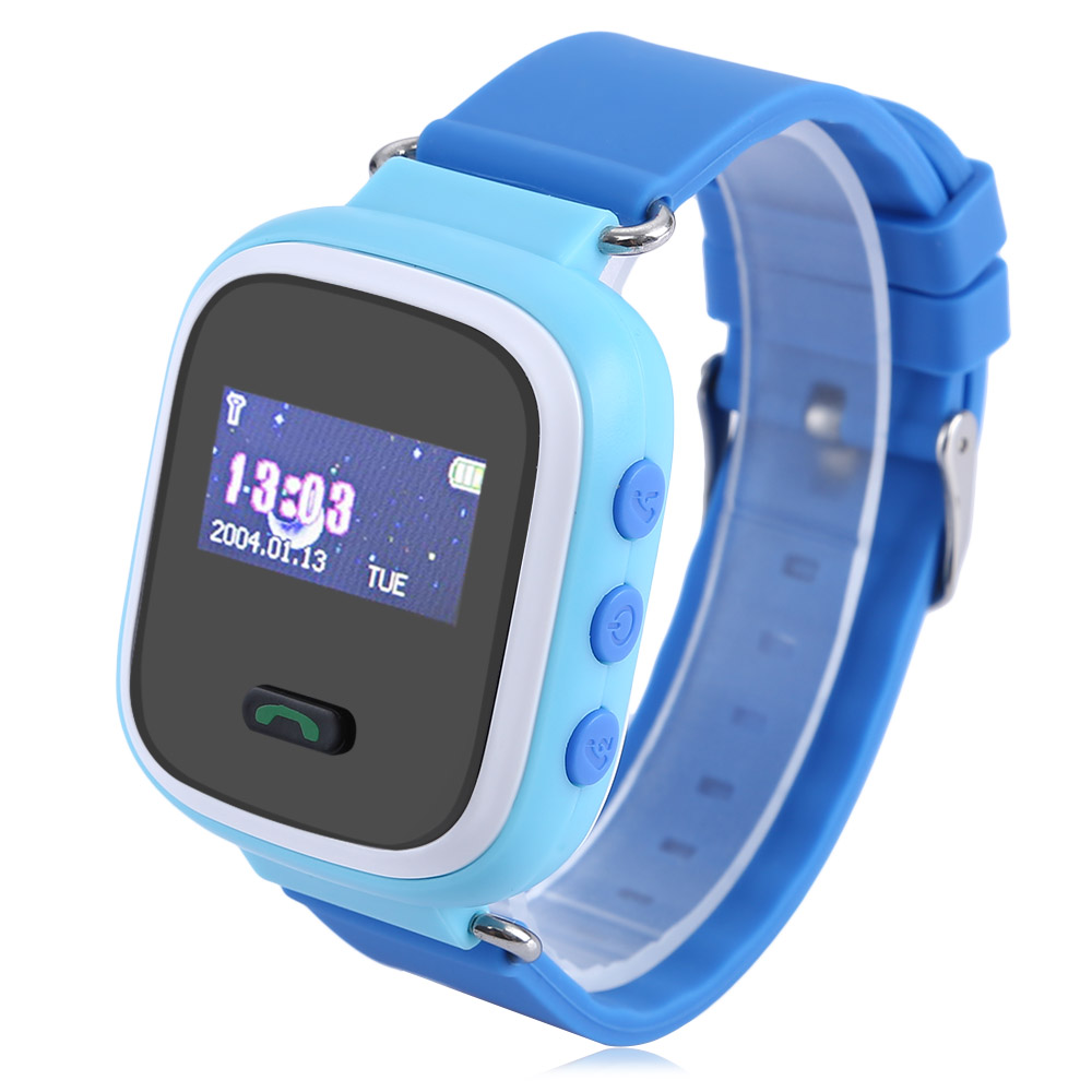 Q60 Waterproof Lost Child GPS Tracker SOS Call Location Finder Locator Device Tracker Kids Smart Wristwatch with IOS & Android(China (Mainland))