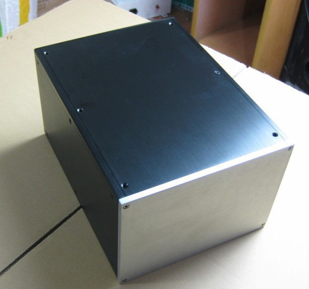 NEW No.3 Full Aluminum Enclosure / mini AMP case/power amplifier box/ chassis - YD<br><br>Aliexpress