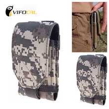 Mobile phone waist bag Large Size Army Camo Mobile Phone Hook Loop Belt Pouch Sleeve Holster Cover Case For Elephone ivory