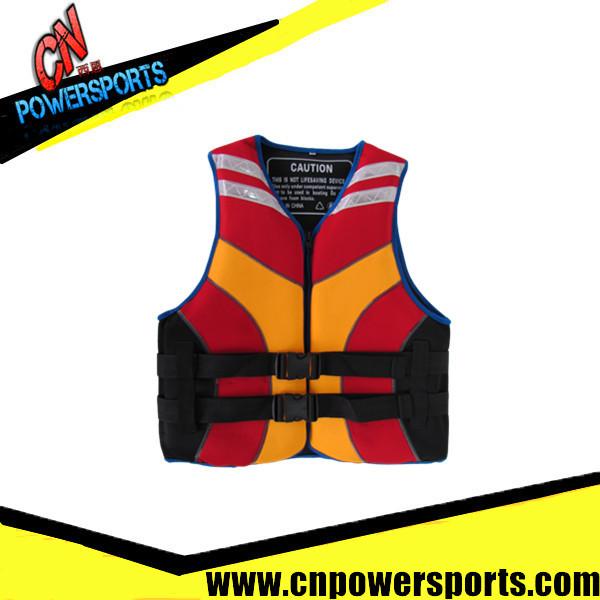 PVC foam inside neoprene PFD life jackets(China (Mainland))