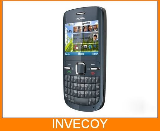 Brand nokia C3 Original unlocked nokia C3/C3-00 cell phone WIFI bar one year warranty(China (Mainland))