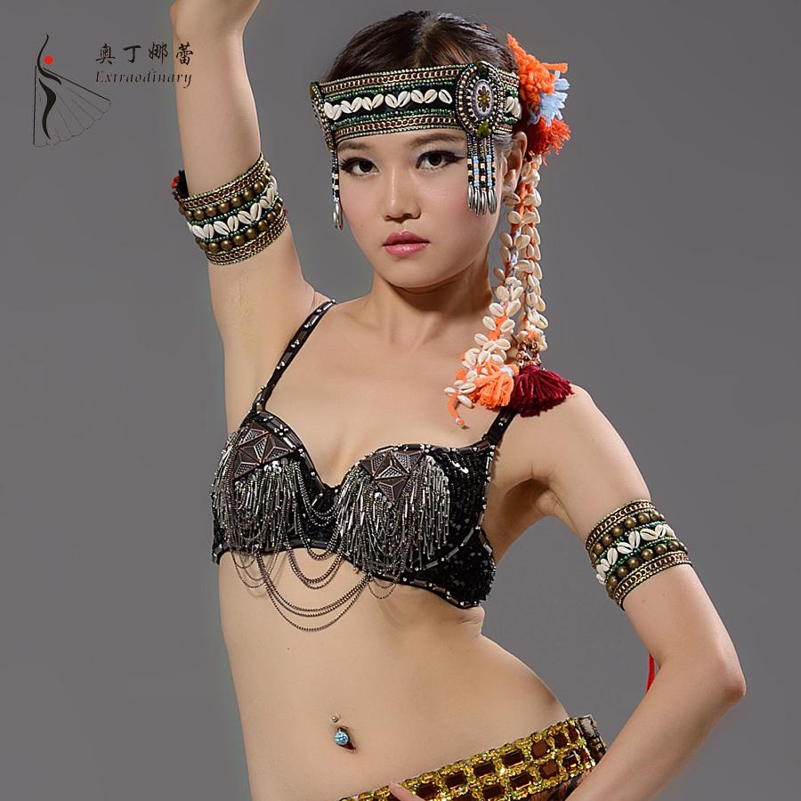 Belly Dance Top Bra for Dance Dancewear Performance Belly Dance Tribal Clothing Belly Dance Top(China (Mainland))
