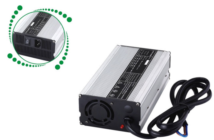 48v 10a charger 48V LiFePO4 battery charger Input 110-240VAC Output 58.4V 10A High power quick charging(China (Mainland))
