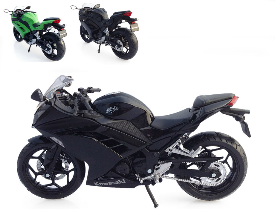 1:12 Quality Children Mini Motorcycle Kawasaki Ninja 250 Die cast model motor bike Alloy metal models race car toys for boys(China (Mainland))