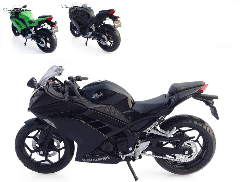 1:12 Quality Children Mini Motorcycle Kawasaki Ninja 250 Die cast model motor bike Alloy metal models race car toys for boys(China (Mainland))