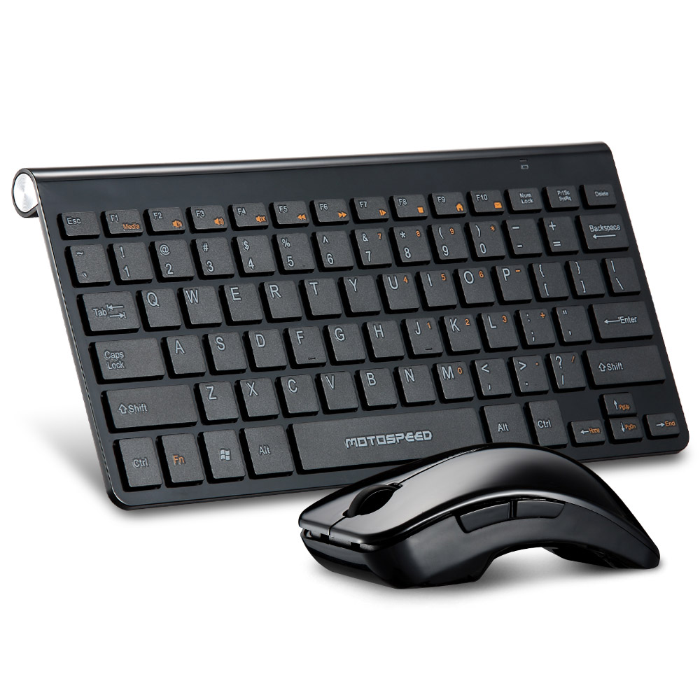 UltraSlim 2.4G Wireless Keyboard + 2400DPI Optical Mouse Combo Set Kit with USB Receiver Ergonomics Design Keyboard Mouse Combos(China (Mainland))