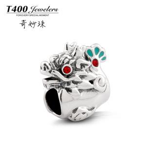 T400 feitos com Swarovski Elements, 925 grânulos de prata esterlina, encantos Dragão, DIY beads fit para o estilo Europeu # Q102, frete grátis(China (Mainland))