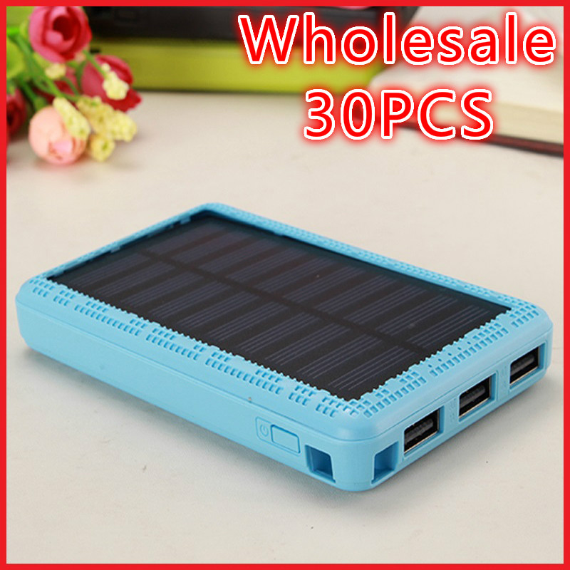 Wholesale Mix Style Mix Colors Solar Power Bank 10000mah Solar Battery Charger Bateria Externa Portable Charger Powerbank(China (Mainland))