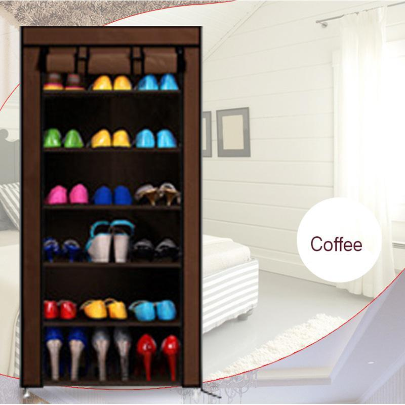 Homestyle Shoe Cabinet Shoes Racks Storage Large Capacity Home Furniture Diy Simple 10 Layer 9 Grid(China (Mainland))